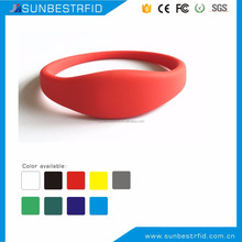 GYM Club membership wristband RFID silicone wristband ISO14443A S50 1K chip