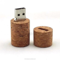 8GB 16GB 32GB Wooden Wine Cork Pendrive Bottle Stopper Design USB Flash drive