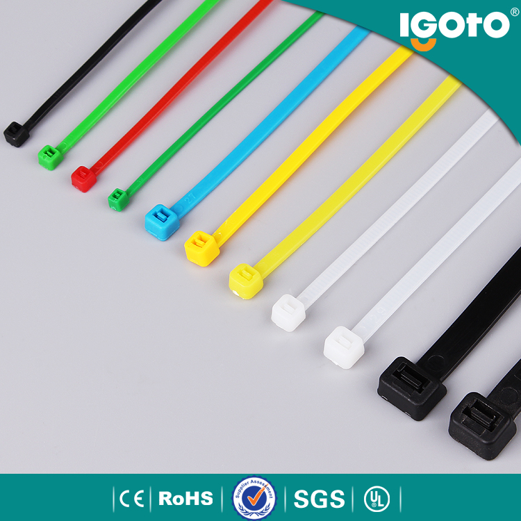 ET-9x500-colour Top custom logo velcro cable tie for electri cables tie