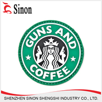 high quality customized garment labels 3d rubber patch