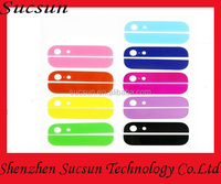 Top and Bottom Glass for Iphone 5S Back Housing Black white glod