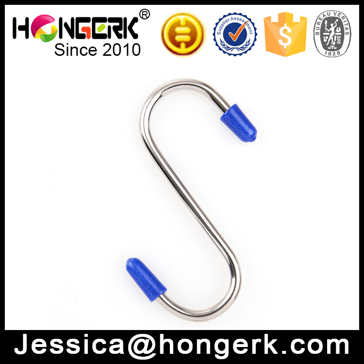 metal stainless steel hanging S hooks for kitchen
