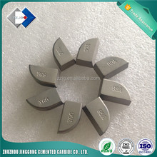 Sintered Carbide YG6 Brazed Tips A420