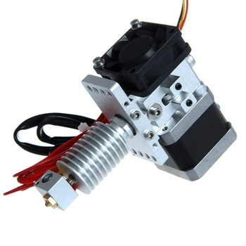GT8S assembled Metal extruder 0.5mm Nozzle 3mm filament hotend for 3d printer