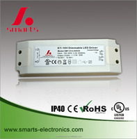 0-10v dimmable led driver 36w IP40 constant voltage 36V
