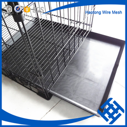 Haotong Wholesaler PVC Coated Galvanized Welded Wire Mesh Dog Kennel