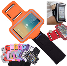 phone accessory Running Jogging Gym Armband Cover Holder For Mobile phone, for iphone 5 5S 5C Arm Band Case 10 colors