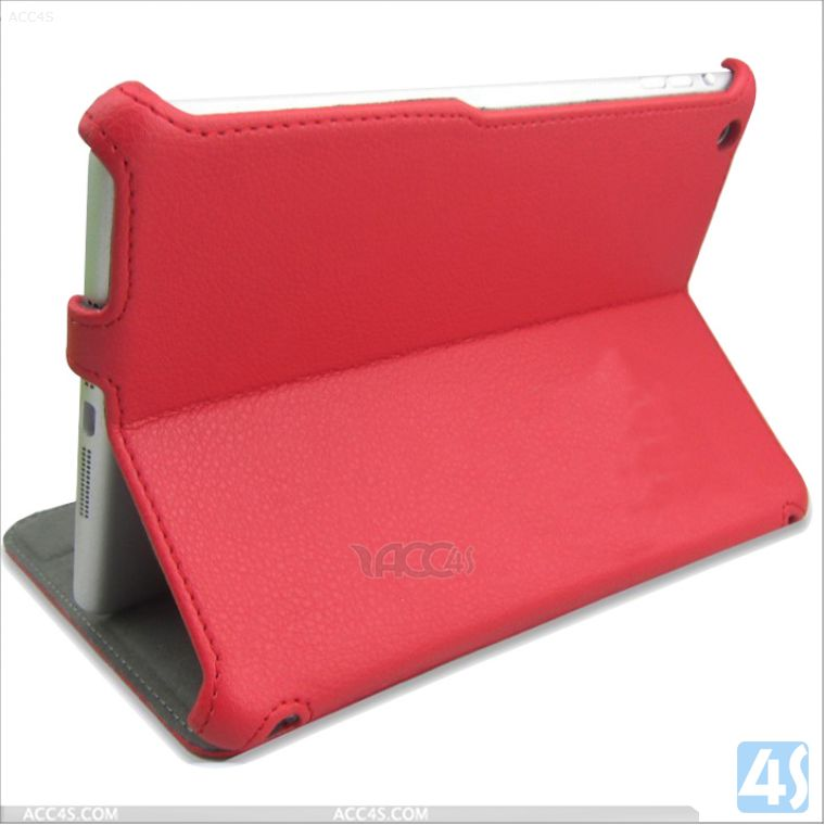 English Amazon stand flip leather cover case for ipad mini retina