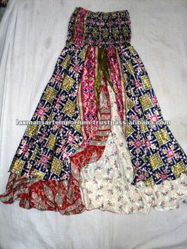 saree wrap skirts