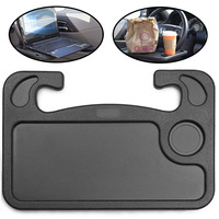 Light Wheelmate Car Table Steering Wheel Tray and Vehicle Seat Mount Notebook Laptop Eating Desk,Car Food Eating Tray