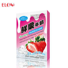 Deeply Repair And Whitening Facial Mask With Strawberry And Milk Ingredient