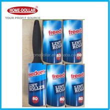 11.5m 5 lint rollers and 1 handle ,80 sheets per roller for Pet Cat Dog Hair Dust Dirt Fluff Romove