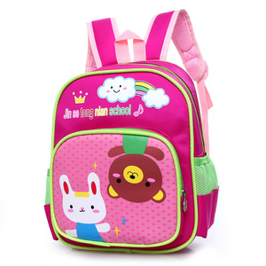 Lovely girl 3D dora backpack for kids cute girl dora school bag