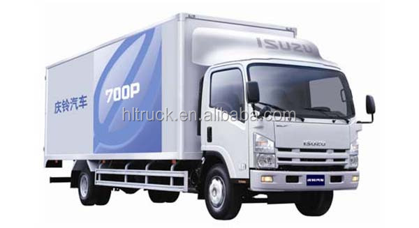 Japan technology 4x2 15M3 van vehicle 190hp japan quality