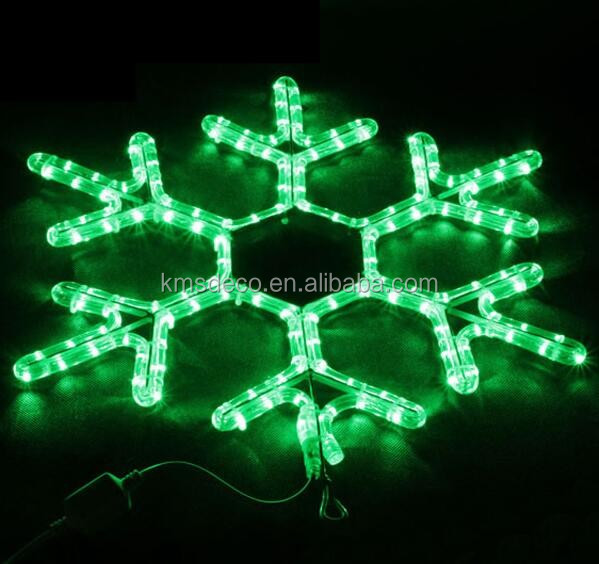 56L LED ROPE LIGHT SNOWFLAKE MOTIF, WARM WHITE, CONNECTABLE