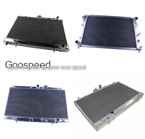 Aluminum racing radiator for Toyota Hilux LN106 111 ( DIESEL) AT