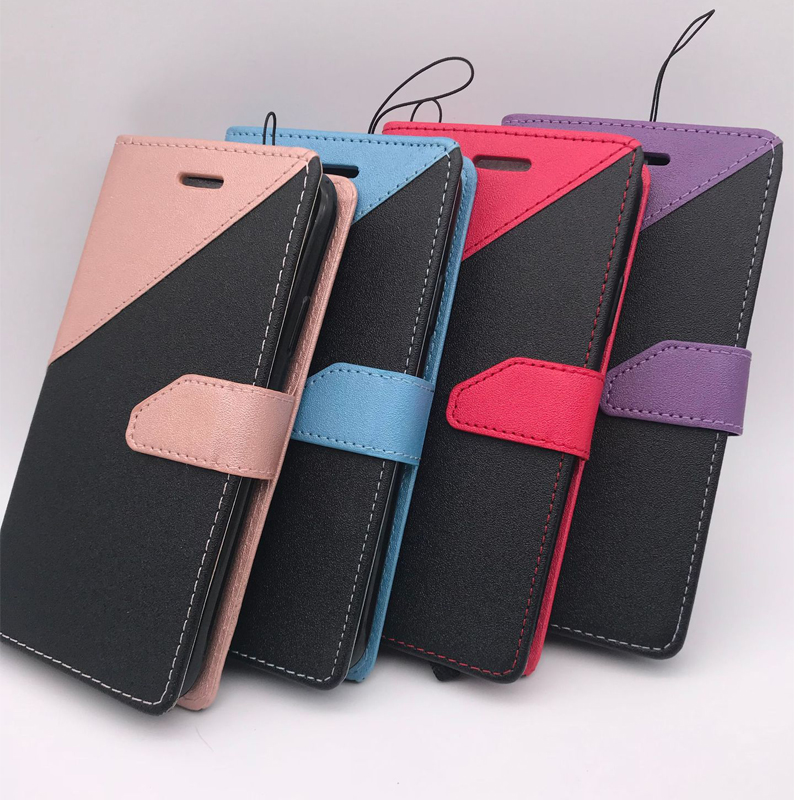 Trendly products 2018 wallet stand cover card slot magnetic protective mobile leather phone case for blu <strong>R1</strong> HD