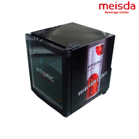 Bar Display Beer Refrigerator 52L Glass Door Hotel Mini Fridge