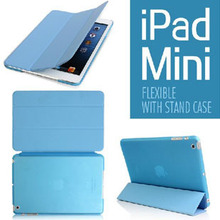 hard Case For ipad mini frosting back cover with smart cover(with Smart Cover Auto Wake/Sleep)