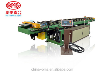 Horizontal combined tube expanding machine