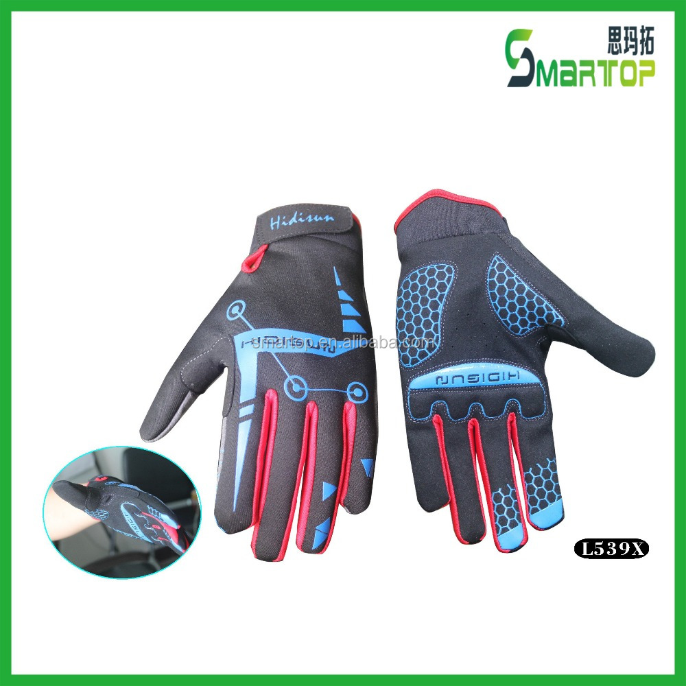Anti slip Mountain bike thin sport gloves