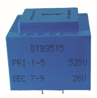 high voltage input low output step down transformer