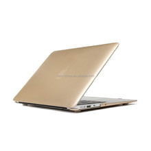 High quality blank gold rose gold pink laptop shell case for mac book air 11