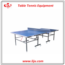 Outdoor Foldable Tennis Table With Wheel,ACP Adjustable Table Tennis Table,Single Folding Table Tennis For Sale