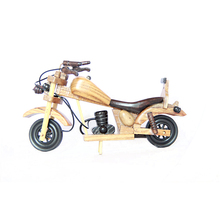 FQ brand Vietnam high quality handmade wood motorcycle model, beautiful art model