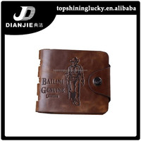 Free Shipping Vintage wallet men china wholesale exprot russia bailini men wallets