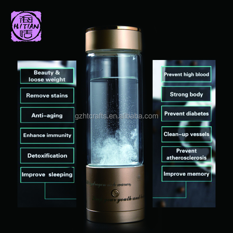 New Design Alkaline Water Plus Antioxidant Ceramic Ball Hydrogen Rich Water Maker