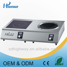 Induction Cooker Easy to Clean Panel for commercial use
