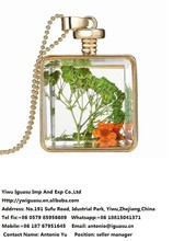 Vintage New Arrival Canada Hot sale Chains collares Necklace Glass De Vidrio Dijes Colgante Para Dama Venta en menoria