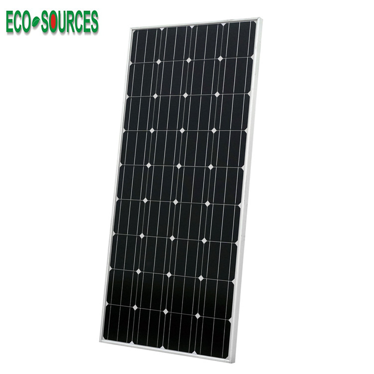 USA ECO 18v 160w high efficiency monocrystalline pv solar <strong>panel</strong> 160w