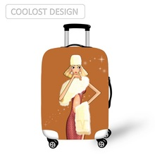 2017 best quality popular custom diy luggage cover