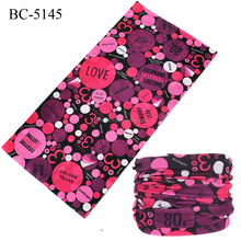 100% polyester microfiber customized multifunctional seamless tube bandana