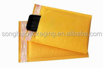 Good quality kraft paper bubble bag for mailing/brown paper bag with bubble