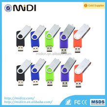 custom logo Electronic Gift Items Swivel USB disk Low Price Swivel USB Flash Drive Bulk Cheap 1GB 2GB 4GB 8GB for Promotion