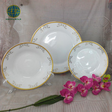 Factory directly wholesale 12pcs porcelain and ceramic dinnerware set /dinner set