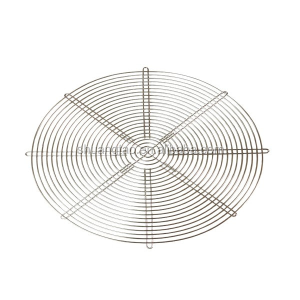 Low price high quality metal handcraft extractor fan cover Finger Guard Protection Cover wire mesh fan cover