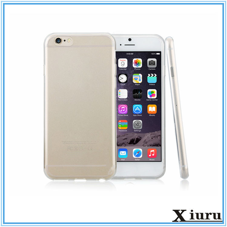 Clear Transparent Soft 0.3 mm Ultrathin Tpu Phone Case For Iphone 6 5S SE