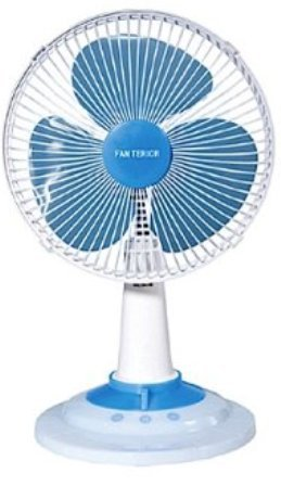 YUASA 18 cm Mini Electric Fan (Imported from Japan)