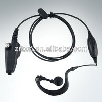 Two way radio Earhook with VOXPTT