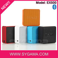 OEM or wholesale cube speaker new gadgets 2014 fashion speaker bluetooth gadgets