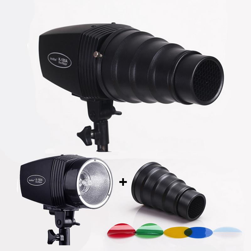 Get Quotations · High Quality Photography Lighting Kits 110v Mini Flash Light+Snoot u0026 Honeycomb with4 Gel Filter & Cheap Studio Lighting Kits For Beginners find Studio Lighting Kits ...