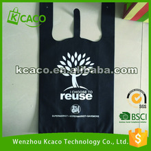 Promotional Cheap Customized Foldable Eco Fabric Tote Non-woven Shopping Bag,