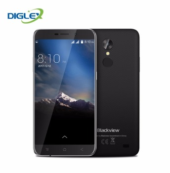 Blackview A10 5.0 inch HD 2GB RAM 16GB ROM Android 7.0 MT6580A Quad Core 8MP 2800mAh 3G Mobile phone