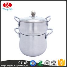 ALUMINUM Couscous with Steamer /Couscous Pot /Couscoussier/Food Steamer Pots