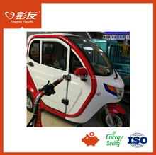 Enclosed passenger tricycle, motor power tricar