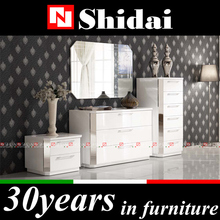 Import bedroom furniture / modern teen bedroom furniture / white laminate bedroom furniture N-57